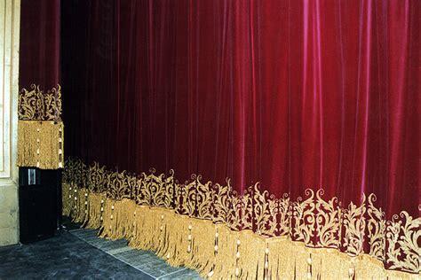 teatro massimo rideaux pour theatres historiques peroni