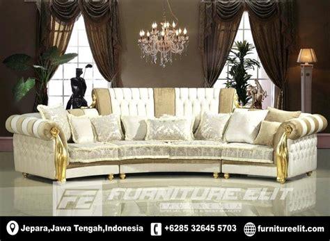 model sofa modern rumah mewah furniture elite