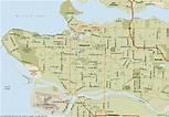 Vancouver Map - ToursMaps.com