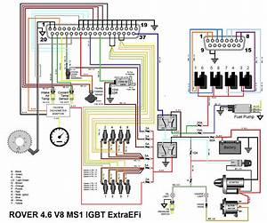 Range Rover P38 Radio Wiring Diagram