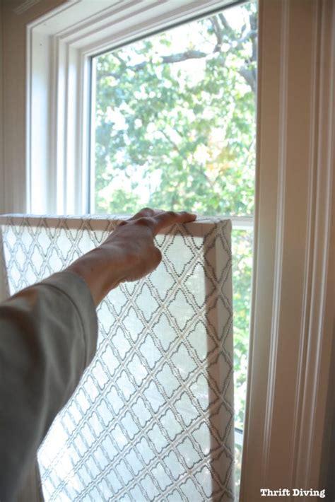 Fenster Sichtschutz Basteln by How To Make A Pretty Diy Window Privacy Screen