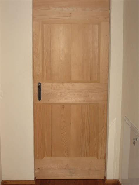 porta  legno abete massiccio al grezzo falegnameria