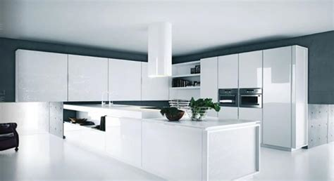 cuisine blanche design cuisine design ou la magie du blanc design feria