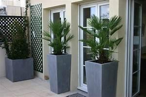 Pot Pour Balcon : contenants et pot design le coin jardin ~ Teatrodelosmanantiales.com Idées de Décoration