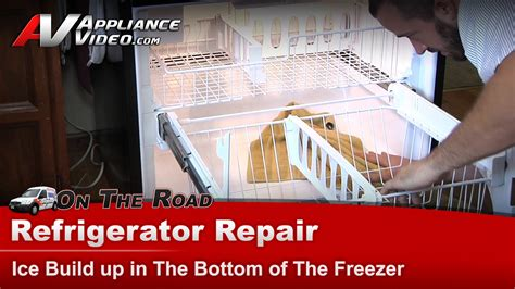 whirlpool gbfhdxws refrigerator repair ice buildup