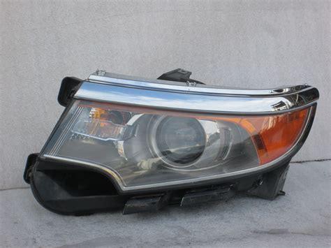 2011 2012 2013 2014 ford edge sport headlight 11 12 13 14