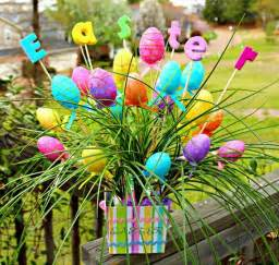 outdoor easter decorations 60 ideas for a special holiday family holiday net guide to family