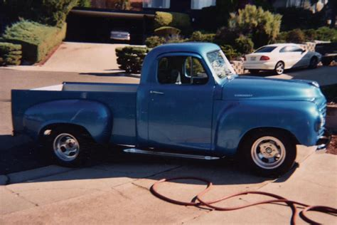 what is the best color to paint your bedroom 1949 studebaker pickup 21345 21345 | 21345 Front 3 4 Web
