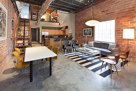 gorgeous loft design ideas  industrial style