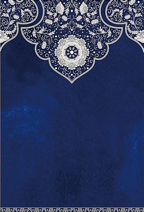 blue antique vintage wedding background islamic art