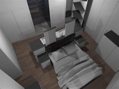 faire une chambre en 3d faire d 39 une chambre de taille moyenne une suite avec wc