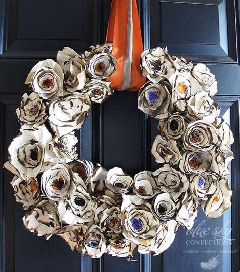 diy halloween wreath ideas