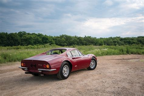 Other notable changes from the 206 were the body, now made of steel instead of aluminium, and a 60 mm (2.4 in) longer wheelbase than the 206. 1969 Ferrari Dino 246 GT