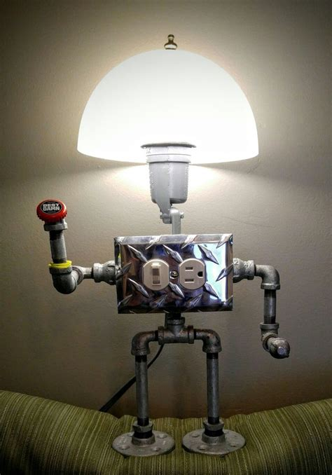 Robot Light by Pipe Robot L 2 0 Pipe Robot Light Pipe