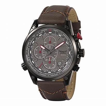 Aviator Smart Worldtimer Watches Worldshop Mens