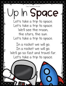 space solar system theme activities  preschool pre