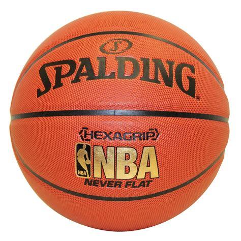 spalding nba hexagrip neverflat basketball basketballs