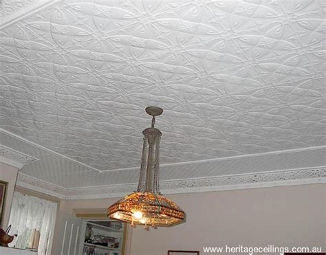 Pressed Tin Ceiling by Pressed Tin Panels Used In New York Project
