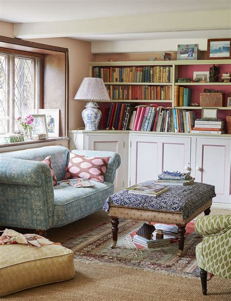 A Fishermans Cottage Designed With A Modern Vision by This Dreamy Sussex Cottage Experiments With Bold Patterns