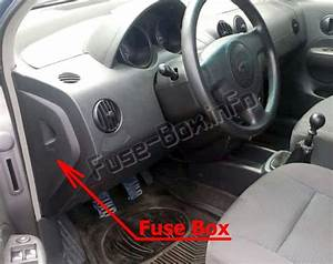 Fuse Box Diagram  U0026gt  Chevrolet Aveo  2002