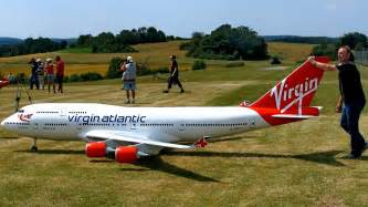 BOEING 747-400 VIRGIN ATLANTIC GIGANTIC RC AIRLINER MODEL ...