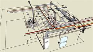 Mechanical  U0026 Electrical Typical 3d Sketchup