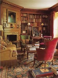 victorian home library | Classic Interior Design; Spencer ...