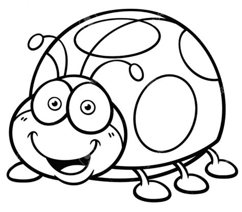 ladybug coloring page coloring page base