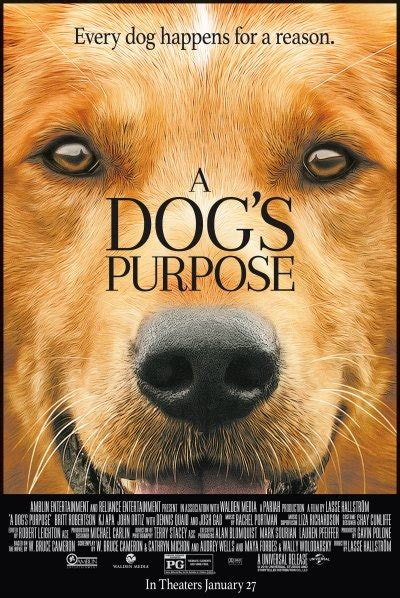dogs purpose  dog  good flick  tony burgess