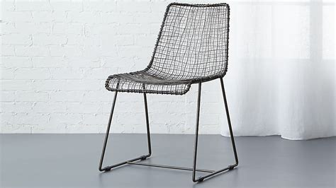 Reed Black Wire Chair + Reviews