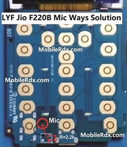 Lyf Jio F220b Mic Ways Mic Problem Jumper Solution