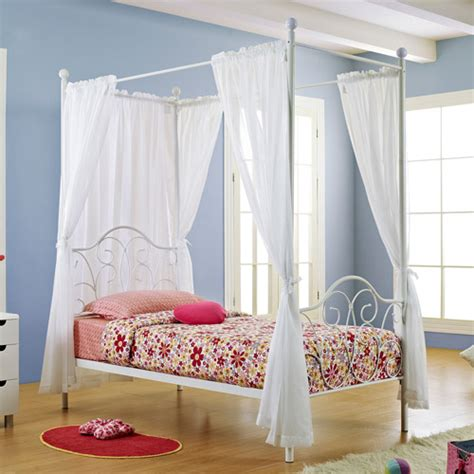 canopy bed curtains walmart metal canopy bed white with curtains unassigned home