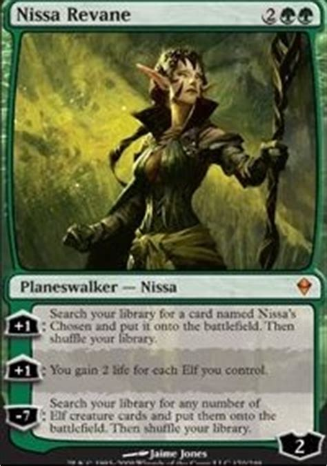 edh elves and friends commander edh mtg deck