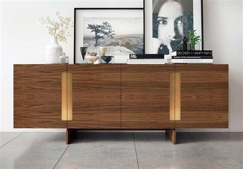 Contemporary Buffets And Sideboards by Walnut Sideboard Ml Britton Modern Buffets Stations