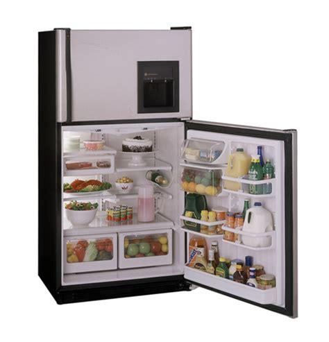 ge profile performance  cu ft customstyle  frost top freezer refrigerator