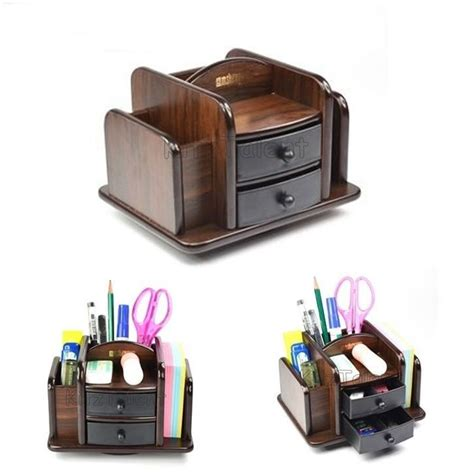 desk l with outlet and organizer office table desk organizer 2 plastic drawer wood pen