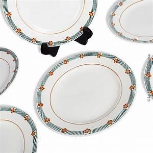 Lot D Assiette : lot de 6 d 39 assiettes plates st amand mod le parame french antique ~ Teatrodelosmanantiales.com Idées de Décoration