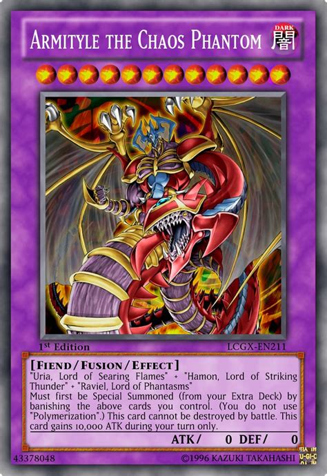 armityle the chaos phantom deck ebay armityle the chaos phantom by kai1411 on deviantart