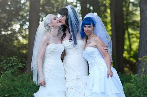 Here Come The Brides The Worlds First Married Lesbian