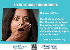17 Best images about MCAM 2012 - Mouth Cancer Action Month ...