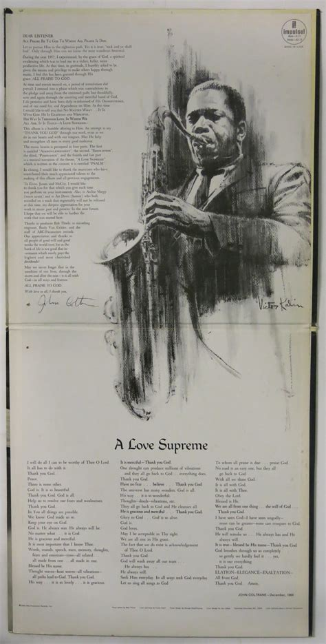 Coltrane A Supreme by Coltrane S Psalm A Supreme As Poetry Animation