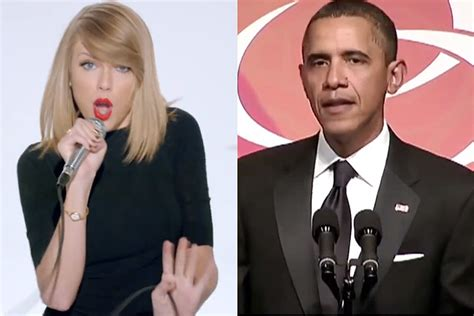 President Obama Covers Taylor Swift's 'Shake It Off' [VIDEO]
