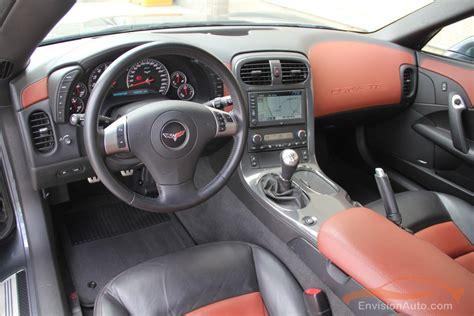 chevrolet corvette  full leather interior