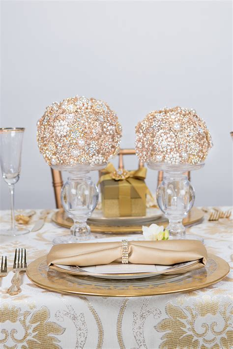 2016 Lookbook Gold Diamond wedding theme Wedding venue