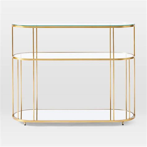 Find a variety of stylish coffee tables that provide chic storage options. Terrace Pill Console | west elm United Kingdom