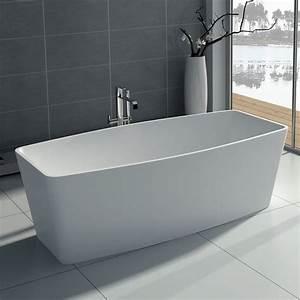Baignoire Ilot Contre Mur : baignoire ilot rectangulaire ~ Nature-et-papiers.com Idées de Décoration
