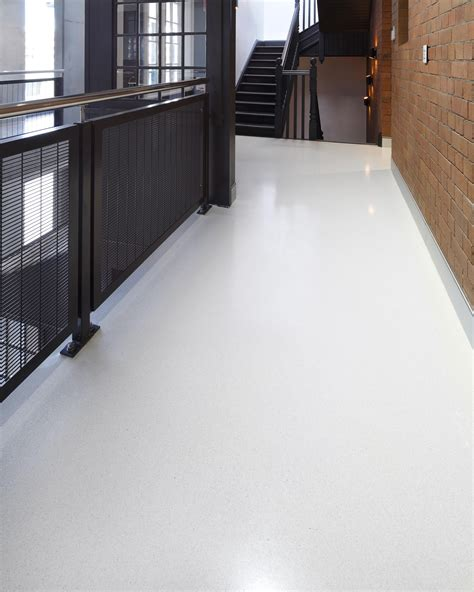 polished concrete flooring in pyrmont and a ghost