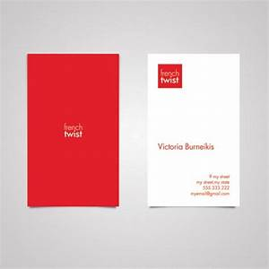 25+ Outstanding Red Business Card Designs - DotCave