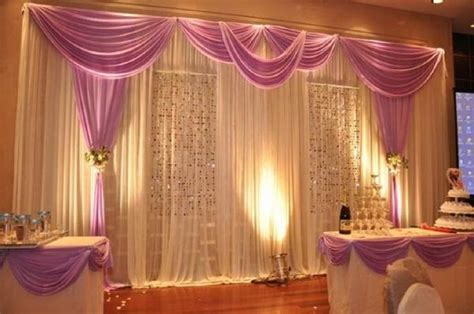 Drape Decoration - wedding pipe and drape curtains diy pipe and drape
