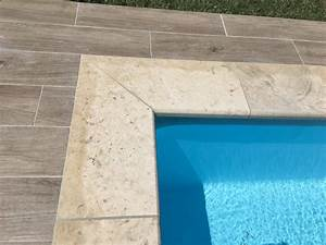 carrelage piscine a eguilles terrasse et margelles With pose margelle bois piscine